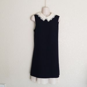 Nanette Lepore Peter Pan Collar Shift Dress size 8